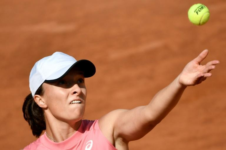 Poland's Iga Swiatek is into her first Rome final.