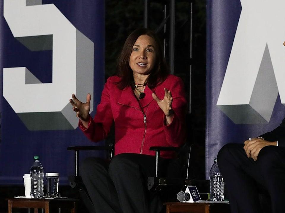 Prof Katharine Hayhoe was this year appointed chief scientist at the Nature Conservancy (Getty Images)