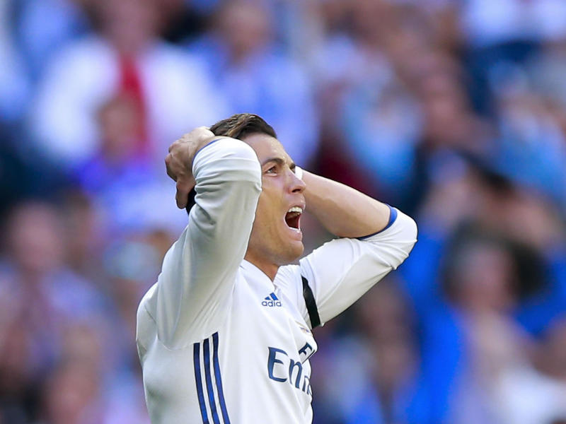 Ronaldo is on a downward trajectory after more than 10 years at the top: Getty