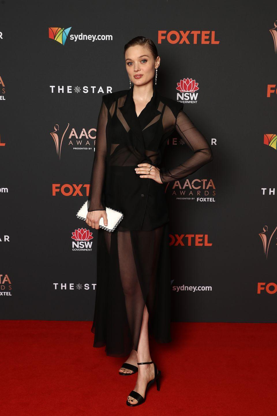 <p><strong>1 December </strong>Bella Heathcote wore head-to-toe Chanel for the Australian Academy of Cinema and Television Arts Awards<strong>.</strong></p>