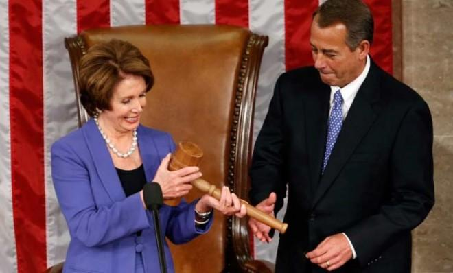 What could possibly come between House Minority Leader Nancy Pelosi (D) and House Speaker John Boehner (R) this year?