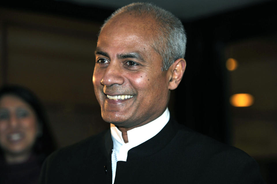 British newsreader, journalist and television news presenter, George Alagiah (Carl Court/AFP/Getty Images)