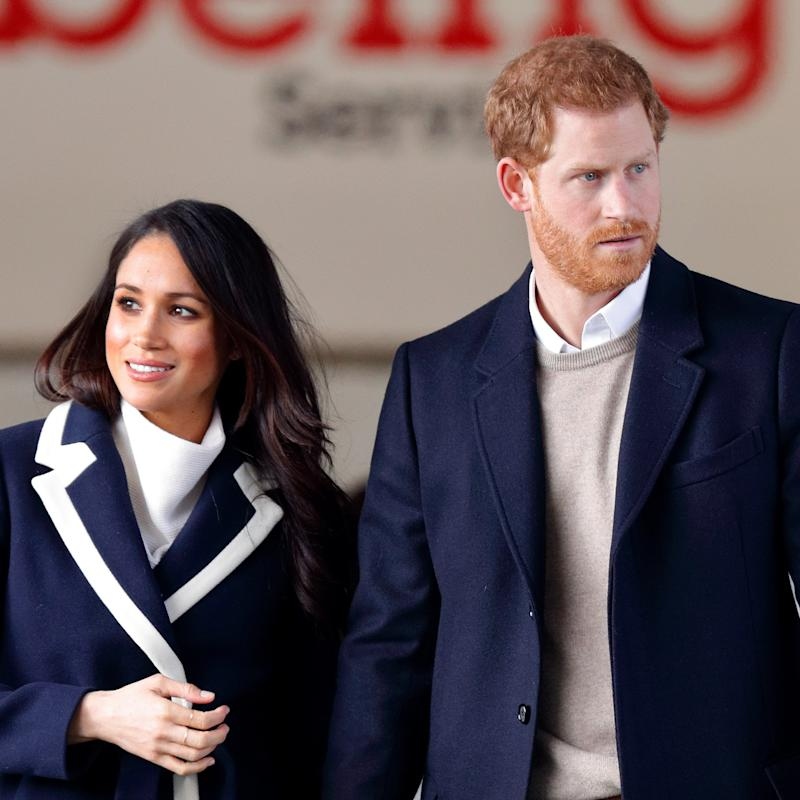Prince Harry, Meghan tour N. Ireland; wedding china on sale