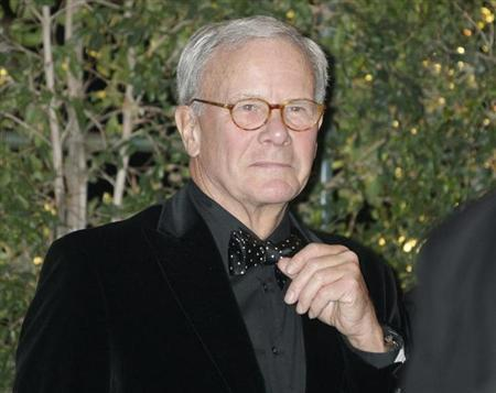 Former NBC Nightly News anchorman and author Brokaw arrives at the Academy of Motion Picture Arts & Sciences 4th annual Governors Awards in Hollywood