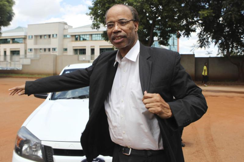 Former U.S. congressman Reynolds arrives at the Harare Magistrates court
