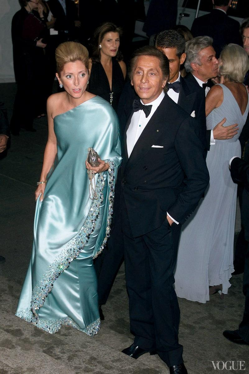 """<h1 class=""""title"""">Marie-Chantal Miller in Valentino Couture, 2001</h1><cite class=""""credit"""">Photo: Getty Images</cite>"""