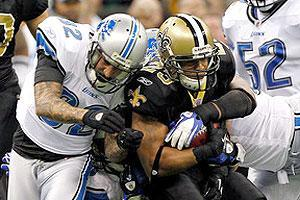 Pierre Thomas was second on the team with 562 rushing yards this season