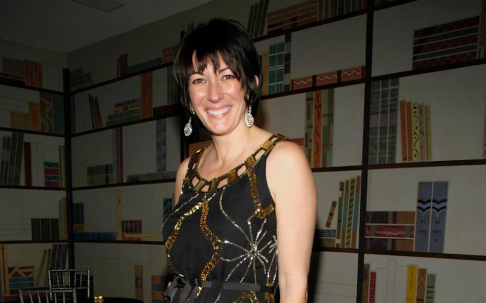 Ghislaine Maxwell's deposition was unsealed in New York - Patrick McMullan