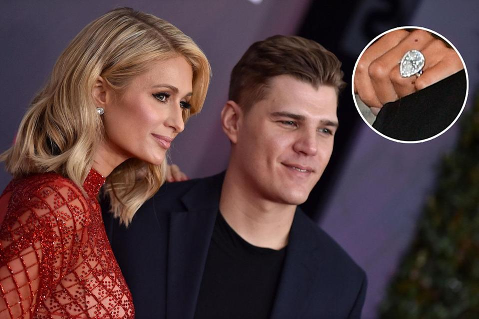 Paris Hilton and Chris Zylka called it quits before a wedding. (Photo: Getty Images)