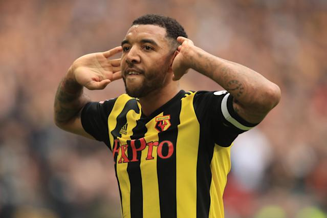 Watford captain Troy Deeney has been targeted by abuse on social media (Credit: Getty Images)