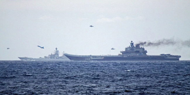 kuznetsov russia navy aircraft carrier