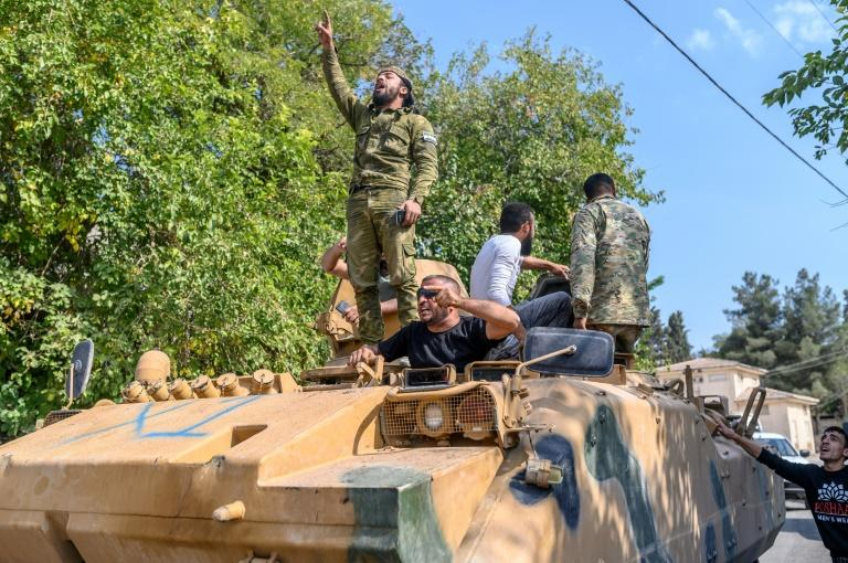 Turkey will suspend the operation for five days (AFP Photo/BULENT KILIC)
