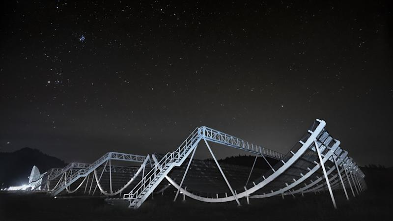 Canadian telescope spots bizarre 16-day pattern in signals from deep space