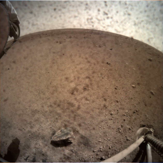 Dusty view of Mars