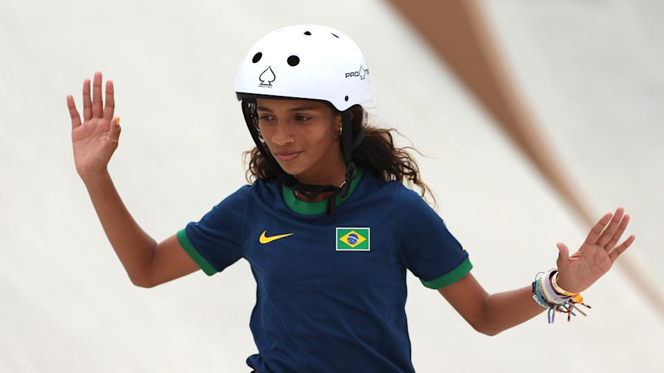 Rayssa Leal went home to Brazil with a silver medal in tow. (Photo by Ezra Shaw/Getty Images)