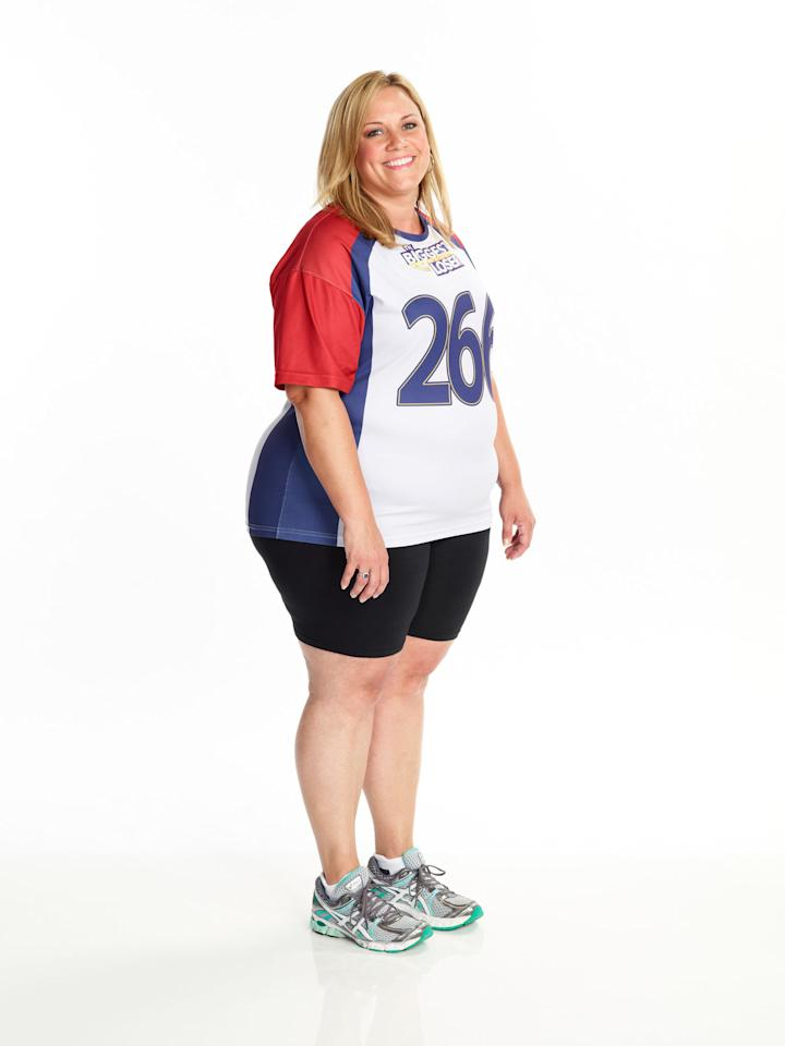 "Jennifer Messer competes on NBC's ""The Biggest Loser"" Season 15."