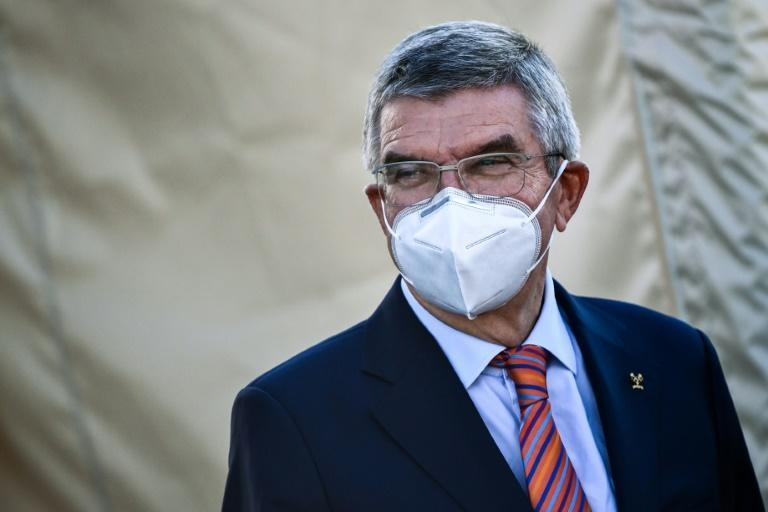 IOC president Thomas Bach warned against political protests at the Games