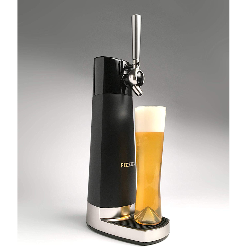 "<br><br><strong>Fizzics</strong> DraftPour Nitro-Style Home Beer Tap, $, available at <a href=""https://go.skimresources.com/?id=30283X879131&url=https%3A%2F%2Fwww.walmart.com%2Fip%2FFizzics-FZ403-DraftPour-Nitro-Style-USB-Powered-Home-Bar-Beer-Tap-Dispenser%2F985504667"" rel=""nofollow noopener"" target=""_blank"" data-ylk=""slk:Walmart"" class=""link rapid-noclick-resp"">Walmart</a>"