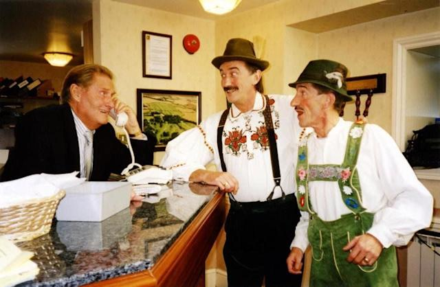 <strong>Jimmy Patton (1931-2019)</strong><br>Jimmy was the elder sibling of the Chuckle Brothers. He starred in 47 episodes of ChuckleVision between 1990 and 2009 and died 11 months after brother Barry.&nbsp;