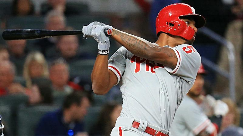 Phillies' Nick Williams has an issue with computers after sitting again
