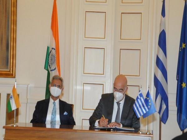 Jaishankar welcomed Athens to the family of the ISA