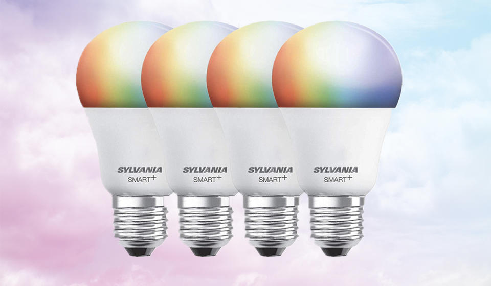 Color your world with these dimmable smart bulbs. (Photo: Amazon)