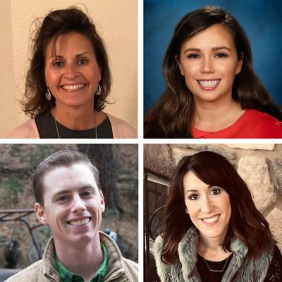 From top left to bottom right: Sherrie DeVries, Stacy Heaton, Tyler Ribeiro, Leaine Souza