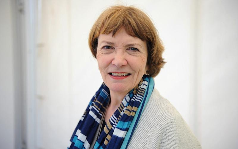 Joan Bakewell at the Telegraph Hay Festival  - Jay Williams