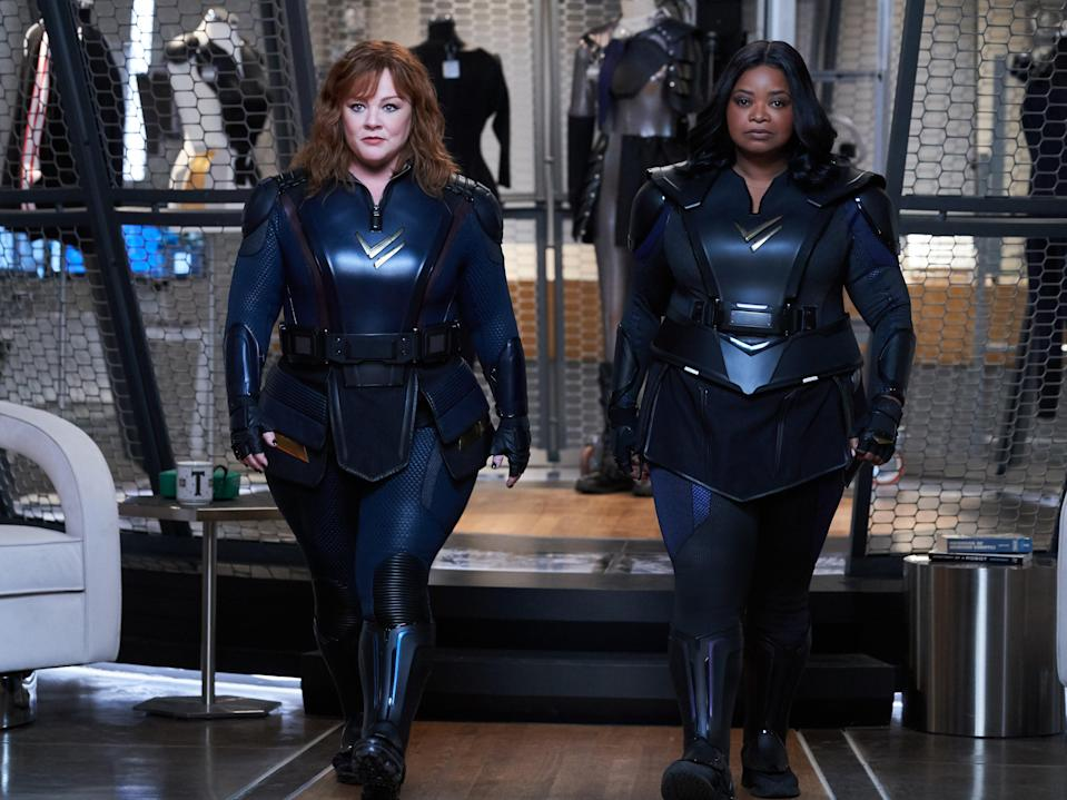 <p>Melissa McCarthy and Octavia Spencer in Thunder Force</p> (Netflix)