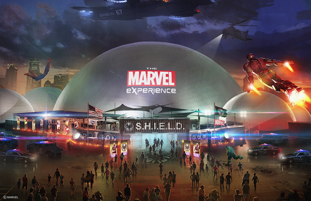'The Marvel Experience': First Look at Traveling Dome Complex for 2014 Live Tour