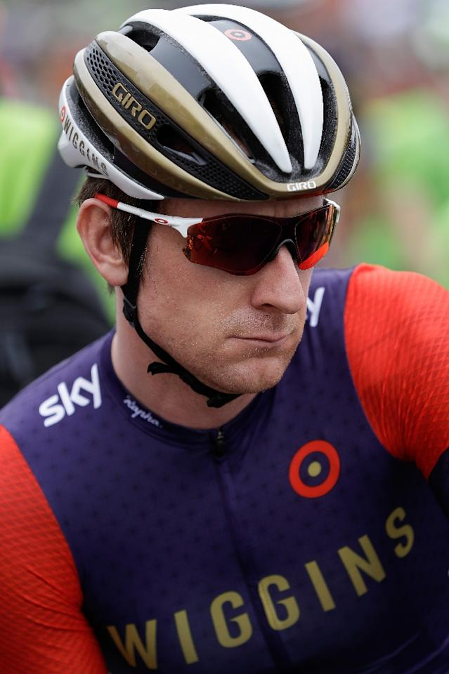 British outfit Team Sky is under scrutiny and suspicion following reports the team's former star, Sir Bradley Wiggins, used medicines to gain an unfair advantage on his rivals (AFP Photo/Doug Pensinger)