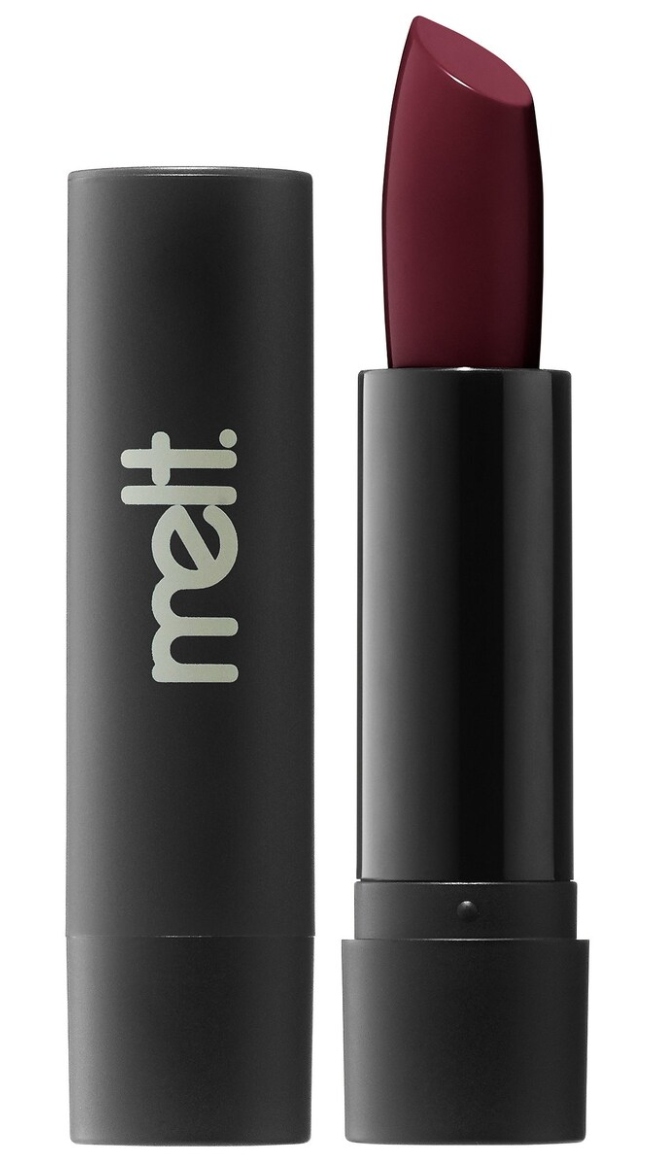 Melt Cosmetics Lipstick in 6Six6 (a deep blood red)