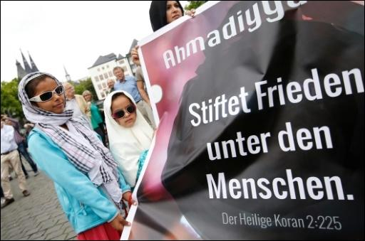 Demonstration in KölnMehr