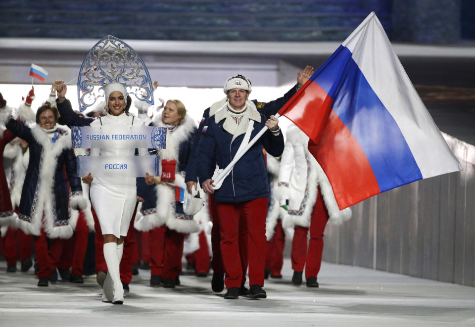 Russia's elaborate and extensive doping scheme during the 2014 Sochi Olympics has gotten them banned . (AP)