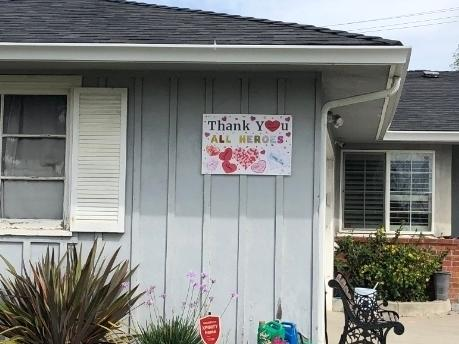 Bay Area residents show their appreciation for heroes, whatever their role.