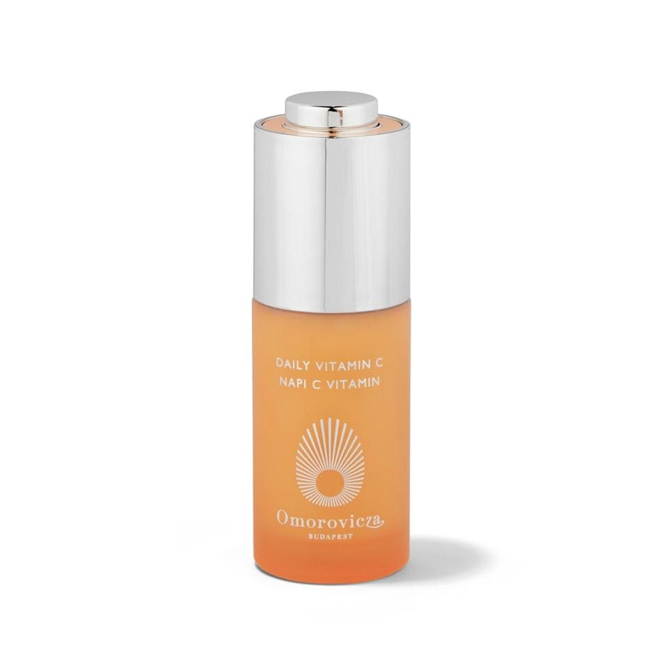 """<p>Fine lines don't stand a chance against Omorovicza's potent milky serum, which is made with vitamin C, kiwiberry, and hyaluronic acid. Think of it as your morning glass of orange juice, but with a side of antioxidant protection for a gorgeous complexion.</p> <p><strong>$150</strong> (<a href=""""https://shop-links.co/1668379202144703125"""" rel=""""nofollow noopener"""" target=""""_blank"""" data-ylk=""""slk:Shop Now"""" class=""""link rapid-noclick-resp"""">Shop Now</a>)</p>"""