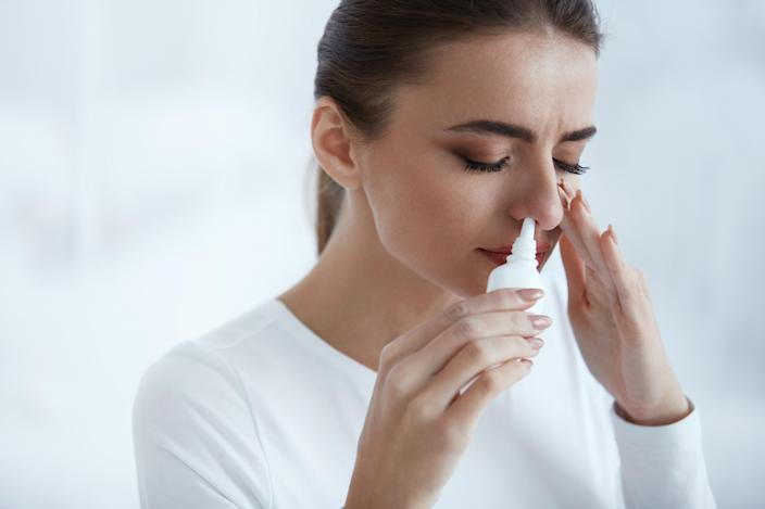 A ketamine-like drug administered as a nasal spray has been approved for patients with treatment-resistant depression. (Getty Images)
