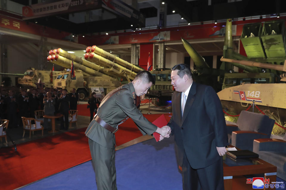 In September, North Korea performed its first missile tests in six months. Source: Korean Central News Agency/Korea News Service via AP