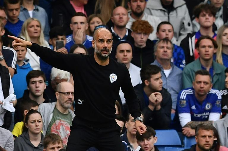 Pep Guardiola's Manchester City were back to their best at Stamford Bridge (AFP/Ben STANSALL)