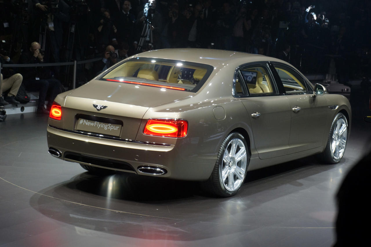 Bentley Flying Spur:You'll need deep pockets though – expect to pay over £130,000 when it goes on sale later this year.