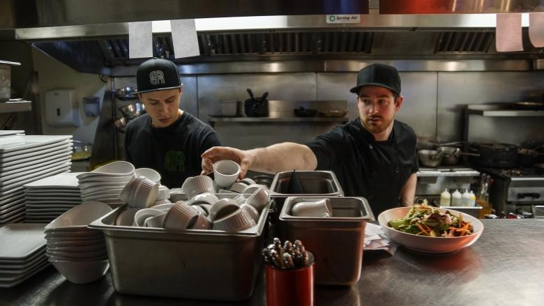 Food industry gets inventive in order to attract workers