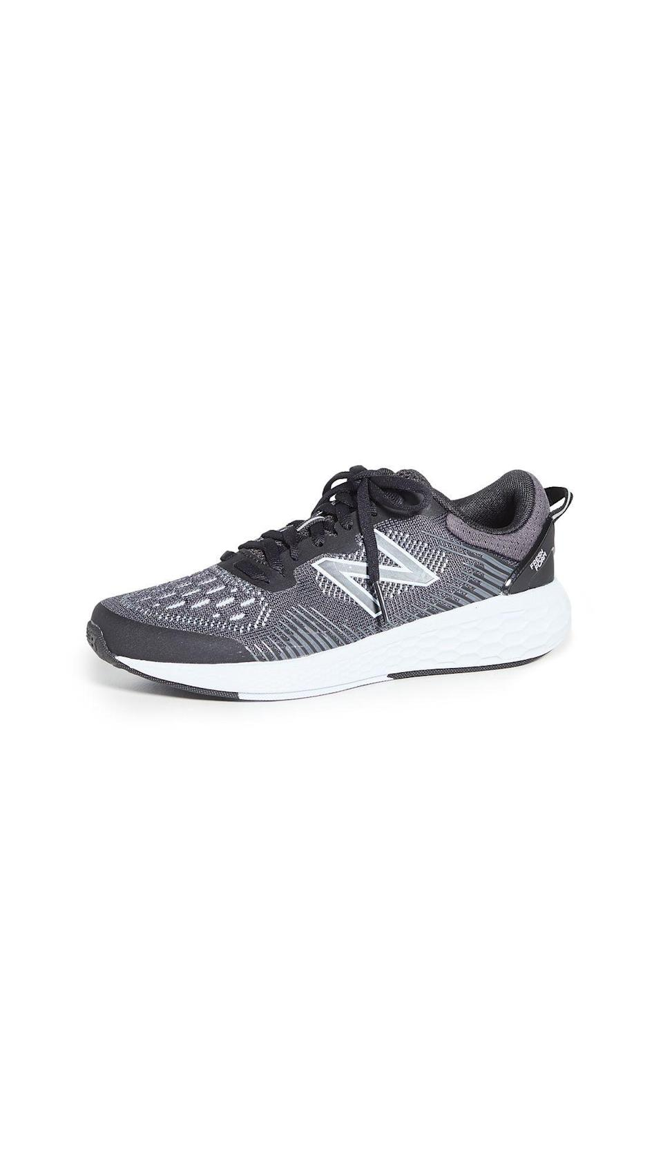 """<p><strong>New Balance</strong></p><p>shopbop.com</p><p><a href=""""https://go.redirectingat.com?id=74968X1596630&url=https%3A%2F%2Fwww.shopbop.com%2Ffresh-foam-cross-sneaker-new%2Fvp%2Fv%3D1%2F1527312927.htm&sref=https%3A%2F%2Fwww.harpersbazaar.com%2Ffashion%2Ftrends%2Fg34632594%2Fshopbop-holiday-sale%2F"""" rel=""""nofollow noopener"""" target=""""_blank"""" data-ylk=""""slk:Shop Now"""" class=""""link rapid-noclick-resp"""">Shop Now</a></p><p><strong><del>$120</del></strong><strong> $84 (34% off)</strong></p><p>Streaming HIIT workouts at home? If you need a new pair of sneakers to help keep you balanced while doing burpies, don't miss your chance to snatch this comfy pair from New Balance. </p>"""