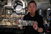 Brewer Wang Fan commemorates the turbulent period of the coronavirus outbreak in the Chinese city Wuhan through his beer