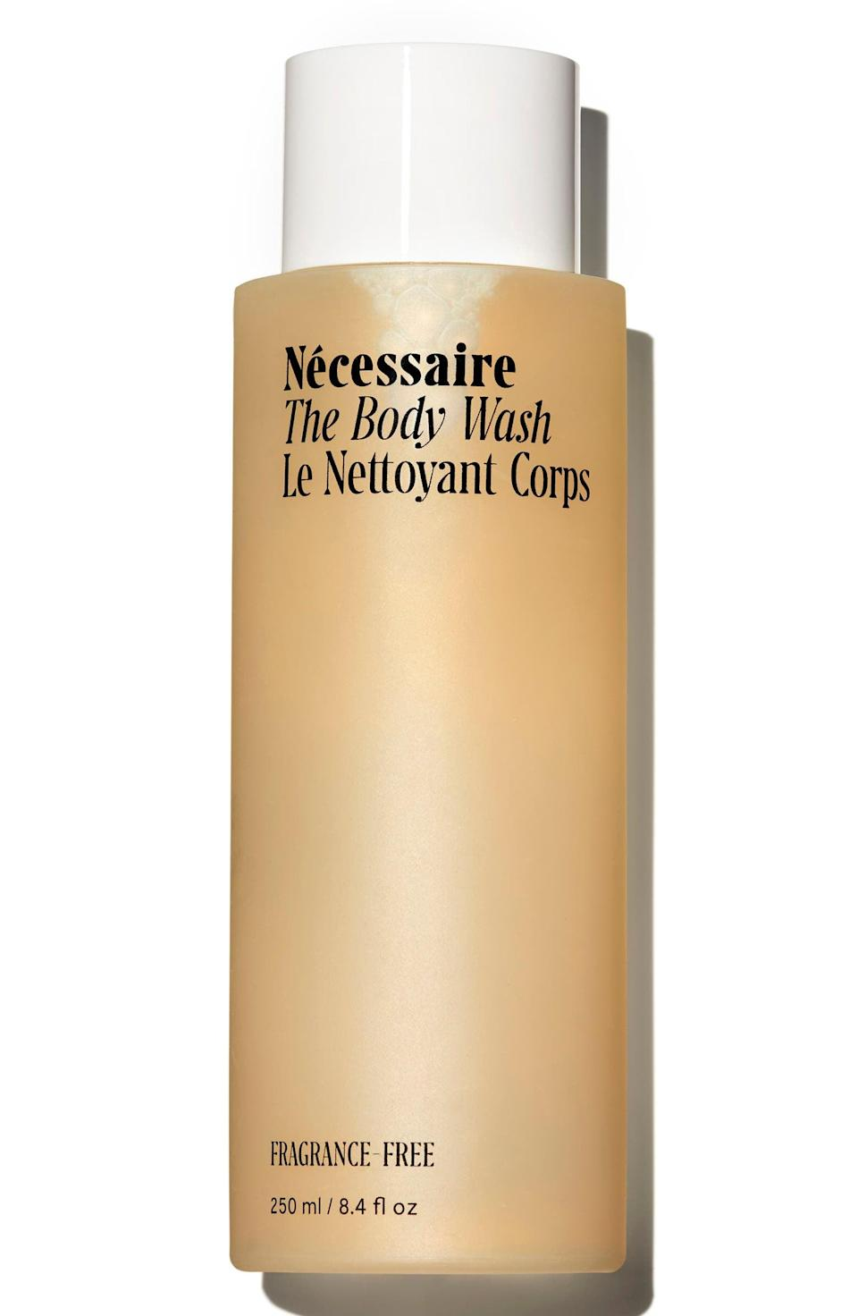 <p>The <span>Nécessaire The Body Wash</span> ($25) features star skin-care ingredient niacinamide to reduce inflammation and cleanse the skin without stripping it of natural oils.</p>