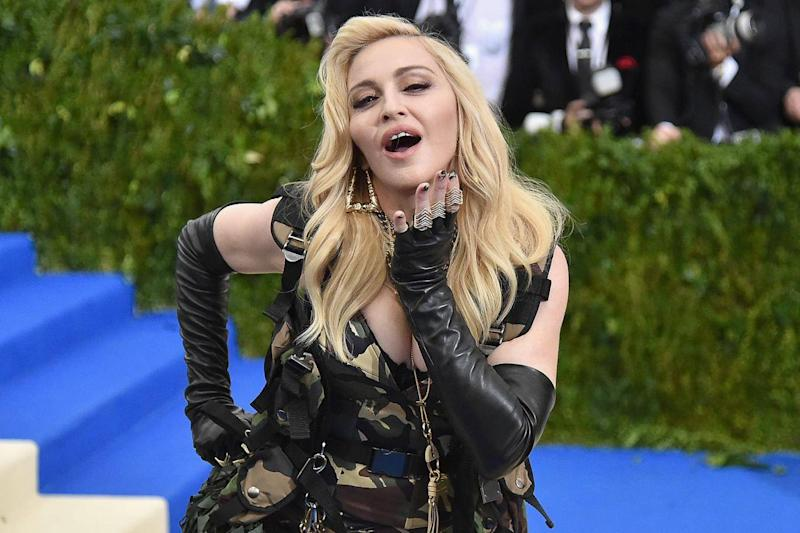 Madonna has stagecraft in spades, charisma, and sexiness (Getty)