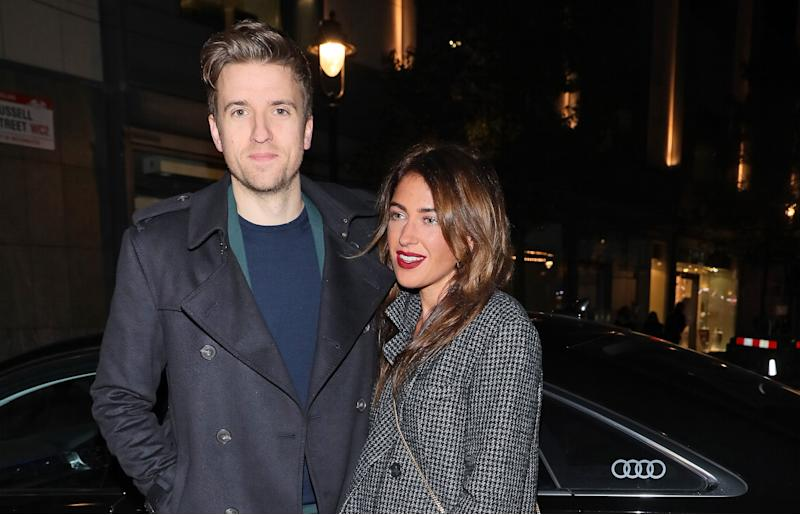 Greg James' wife says he didn't come home from Brit Awards