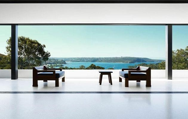 The place has amazing views of Sydney. Source: Realestate.com.au