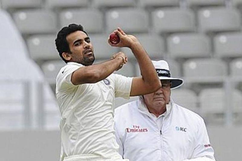 Zaheer last played for India in 2014