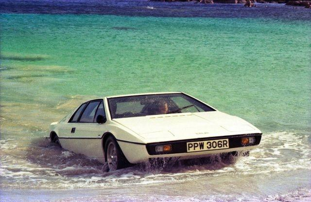 "The Lotus Esprit Series 1 became a global automotive icon thanks to the 1977 James Bond film ""The Spy Who Loved Me"""