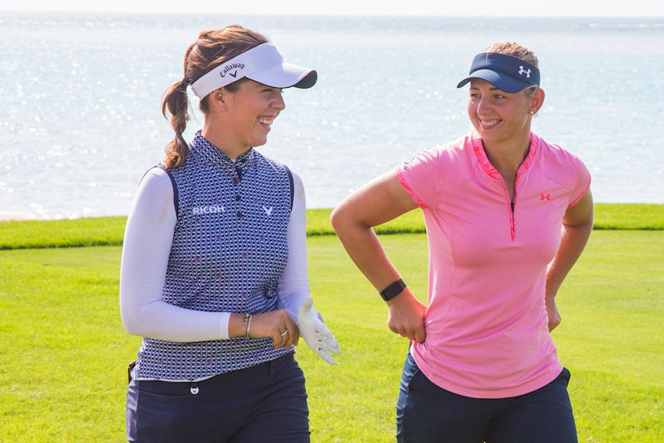 2018 Open winner Georgia Hall and Emily Kristine Pedersen, the Race to Costa del Sol champion, will join Thompson in a mouthwatering field